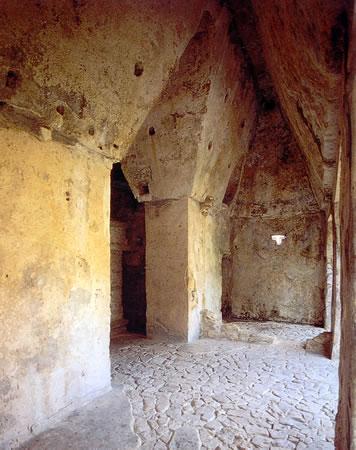 Interior Templo del Sol