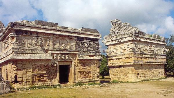 Los mayas palacios y piramides for Las construcciones de los mayas