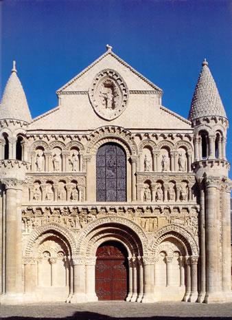 Fachada de Nuestra Señora la Mayor, Poitiers