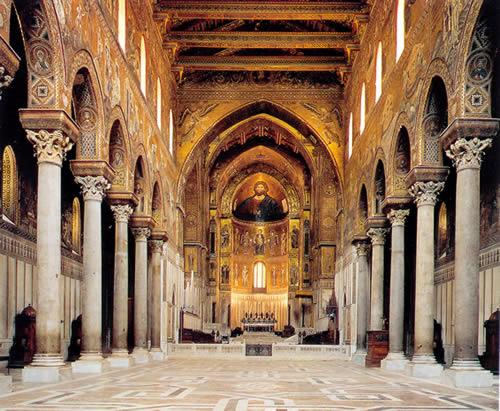 Resultado de imagen de catedral de monreale planta