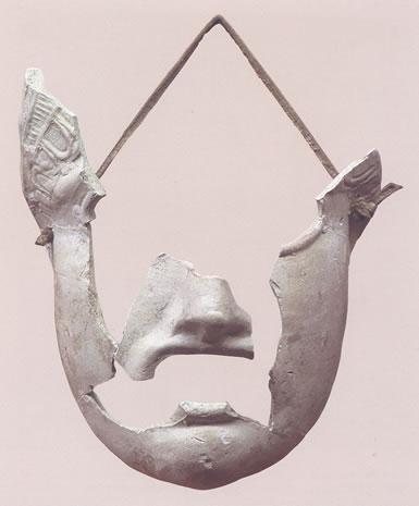Máscara teatral femenina