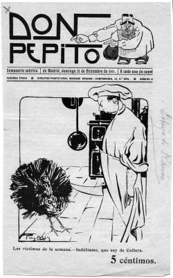 Don Pepito. Las víctimas de la semana. 31 de diciembre de 1911