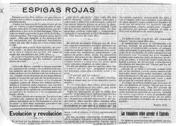 Espigas rojas. Dic. 1919 (Museo de Huesca)