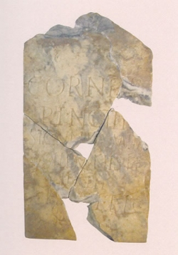 Inscripción funeraria