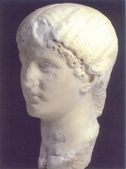 Cabeza de princesa Julio-Claudia