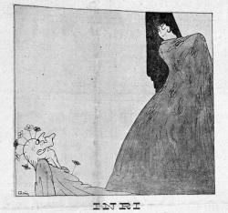 Dibujo Flores de trapo. Ideal de Aragón, 1 de junio de 1918 (Hemeroteca Municipal de Zaragoza)