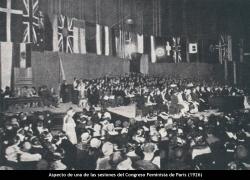 Congreso Feminista en París (1929)
