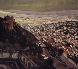 Granada vista desde el Generalife
