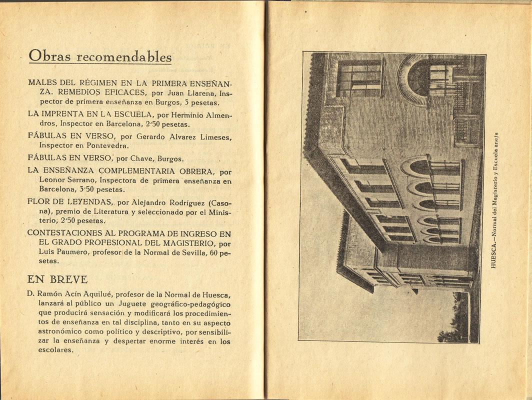 """Página 179 de la obra """"El Medio y la Escuela (comunicaciones)"""""""
