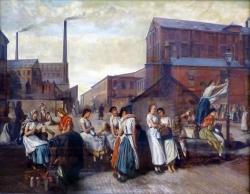 La hora del almuerzo, por Eyre Crowe