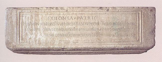 Inscripción de Lucio Iunio Paulino