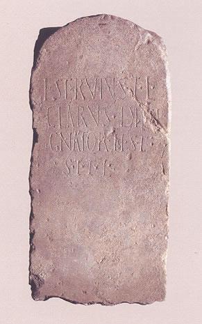 Inscripción funeraria de un dissignator