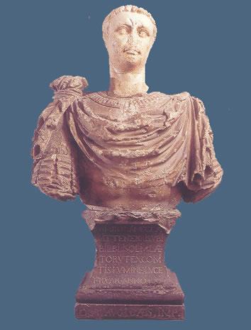 Retrato del emperador Claudio