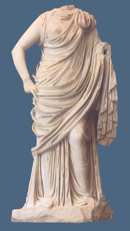 Estatua de musa