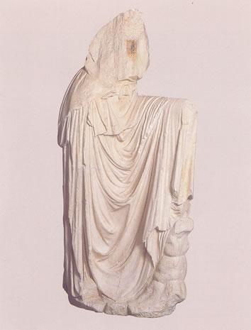 Estatua de «Melpómene»