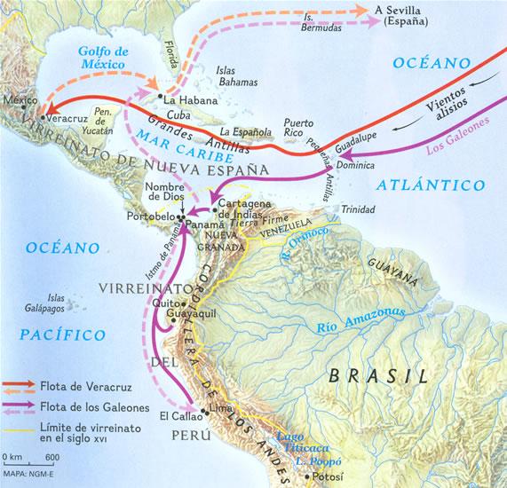 El riesgo en el comercio hispano-indio