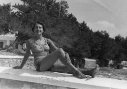 Sol Acín. Hacia 1950 (Familia Acín)