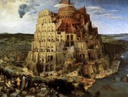 Figura 1. Pieter Brueghel el Viejo: La Torre de Babel. 1563. Kunsthistorisches Museum, Vienna