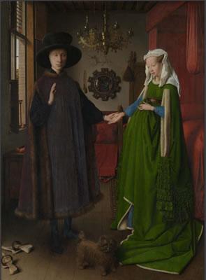 El matrimonio Arnolfini (Jan Van Eyck)