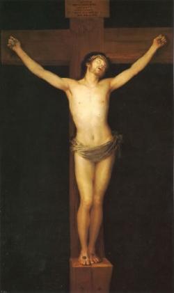 Goya. Cristo crucificado