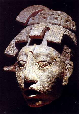 Los Mayas: palacios y pirámides. Retrato de Pacal