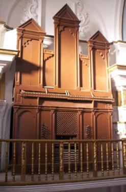 Órgano Puebla de Alfindén