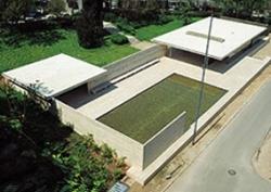 Figura 4. Mies van Der Rohe: Pabellón Alemán de la Exposición Universal de Barcelona. 1929
