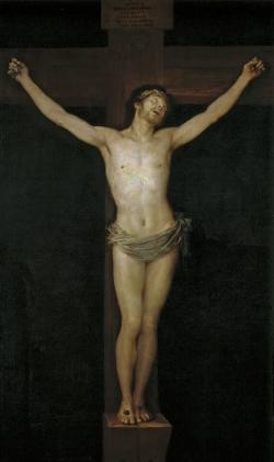 Goya. Cristo crucificado. 1780
