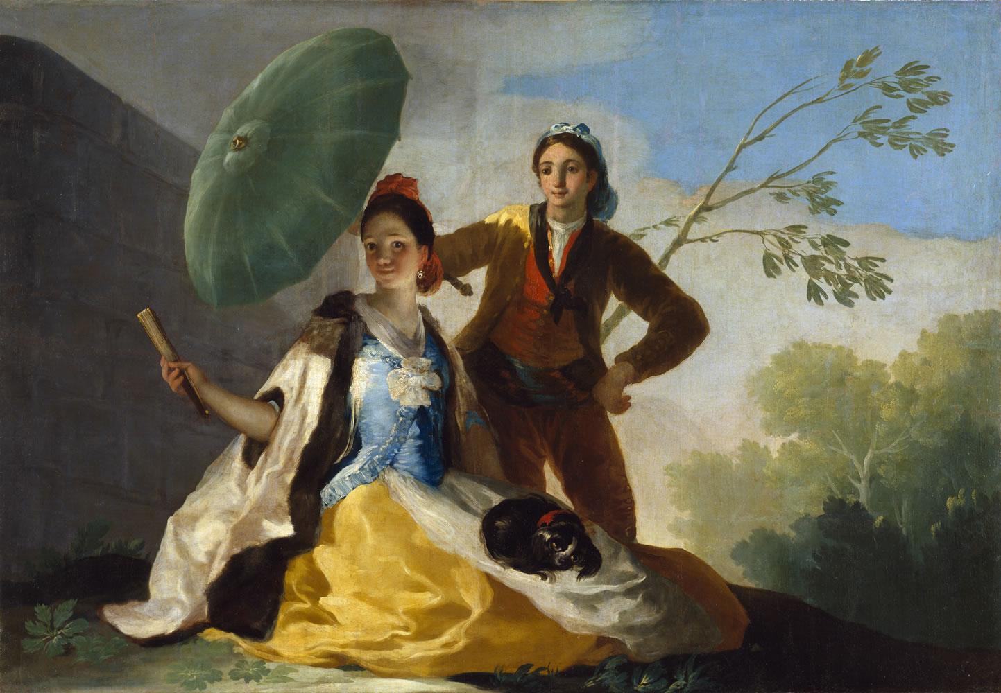 Goya. El quitasol. 1777