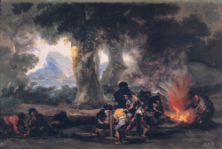 Goya. La fabricación de balas. Hacia 1810-14