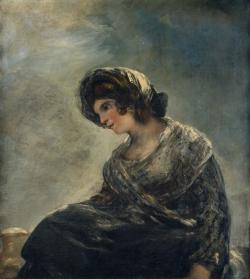 Goya. La lechera de Burdeos. Hacia 1825/27