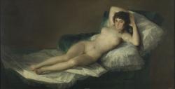Goya. La Maja Desnuda. Hacia 1797-1800