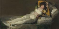 Goya. La Maja Vestida. Hacia 1800-1805
