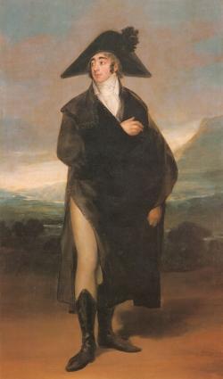 Goya. Retrato del Conde de Fernán Núñez. Hacia 1803