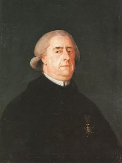 Retrato del canónigo Ramón Pignatelli