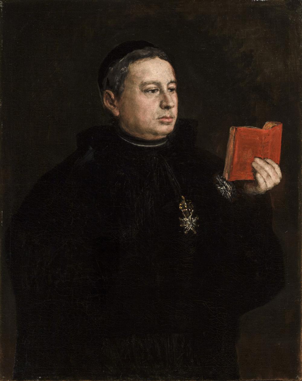 Retrato del canónigo José Duaso y Latre