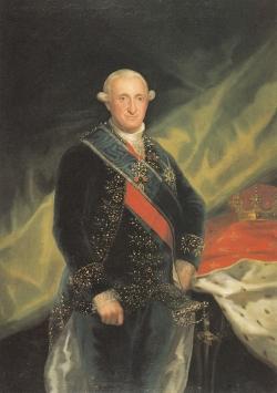 Goya. Retrato de Carlos IV. 1789