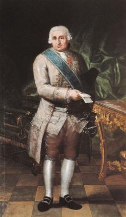 Goya. Retrato de Miguel de Muzquiz y Goyeneche.  Hacia 1783-1785