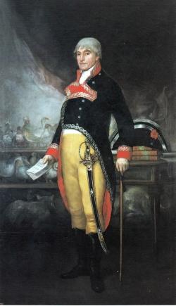 Goya. Retrato de Félix de Azara. 1805