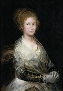 Goya. Retrato de Josefa Bayeu (?). Hacia 1808-10