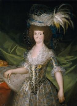Goya. Retrato de la Reina María Luisa. 1789