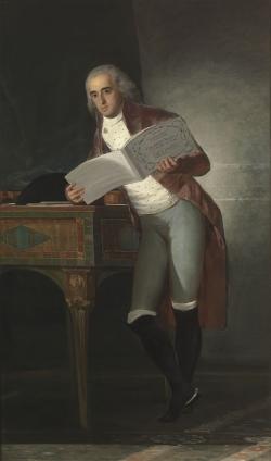 Goya. Retrato del Duque de Alba. Hacia 1795
