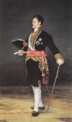 Goya. Retrato del Duque de San Carlos. 1815