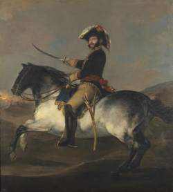 Goya. Retrato ecuestre del General Palafox. 1814