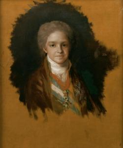 Goya. Retrato del Infante Carlos María Isidro. Hacia 1800