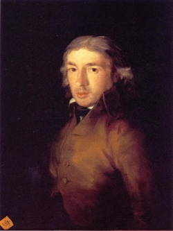 Goya. Retrato de Leandro Fernández de Moratín. 1799