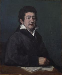 Retrato de Leandro Fernández de Moratín