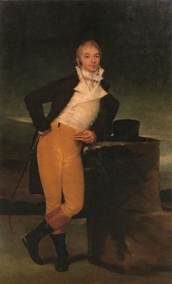 Goya. Retrato del Marqués de San Adrián. 1804