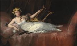 Goya. Retrato de la Marquesa de Santa Cruz. 1805