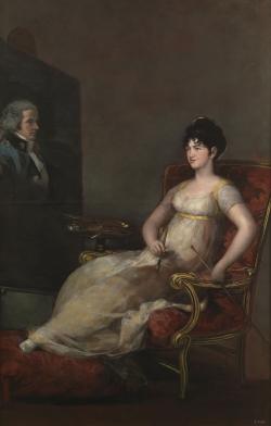 Goya. Retrato de la Marquesa de Villafranca. 1804